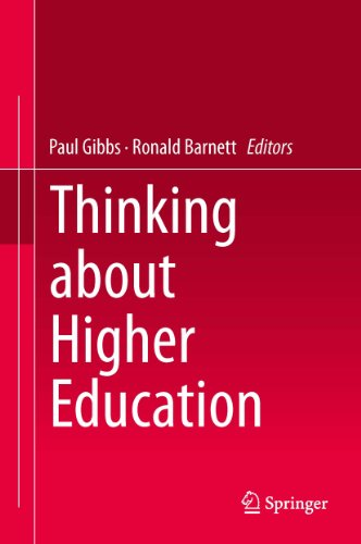 Thinking about Higher Education book cover