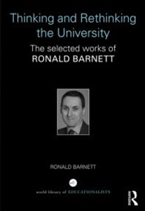 Thinking and Rethinking the University by Ronald Barnett