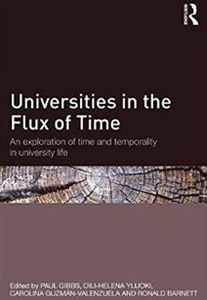 Universities in the Flux of Time: An exploration of time and temporality in university life book cover